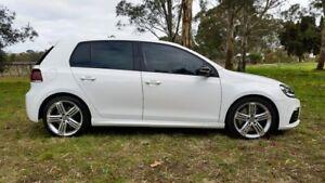 2012 Volkswagen Golf VI MY13 R DSG 4MOTION White 6 Speed Sports Automatic Dual Clutch Hatchback