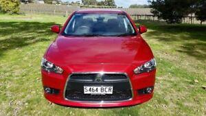 2014 Mitsubishi Lancer CJ MY15 LS Red 6 Speed Constant Variable Sedan