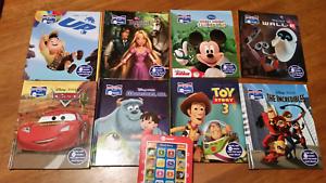 8 x Disney books and e reader Morphett Vale Morphett Vale Area Preview