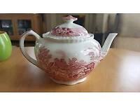 Vintage Adams English Scenic Teapot