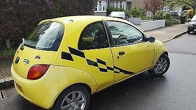 Ford Ka Yellow