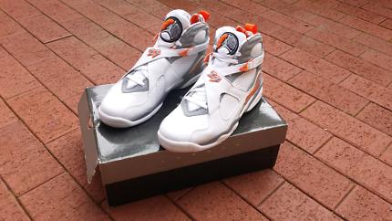"""Air Jordan 8 Retro """"Bobcats"""" OG Size 10"""