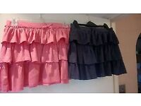 Next girl's skirts (14 Y)