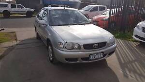 2001 Toyota Corolla Hatchback LOW KMS Williamstown North Hobsons Bay Area Preview