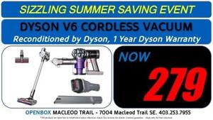 Dyson V6 Cordless Vacuum, 1 Year Full Warranty. Reconditioned By Dyson. OpenBox Macleod Sale!