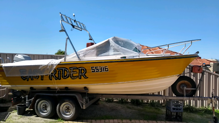 Haines Easy Rider 18 ft runabout $10,400 ono