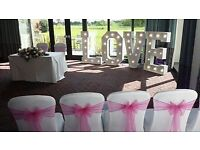 Perfect Day Occasions Wedding Hire Including Professional set up of your chosen Venue