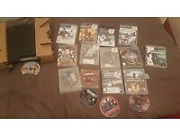 ps3 slim with 17games one pad