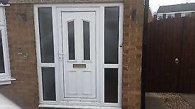 Fitting front door