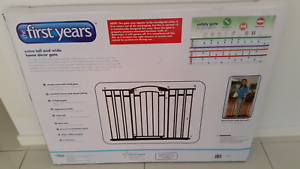 The First Years Safety Gate Extra Tall Wide Home Decor