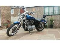 2005 Harley Davidson XL883C Custom