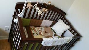 Brand new large baby nursery set (crib furniture not included)