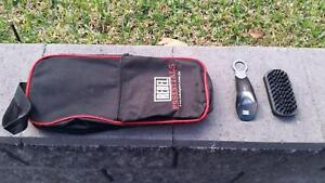 Sports Shoe bag with Shoe horn and shoe cleaner Eltham Nillumbik Area Preview