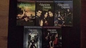 Vampire Diaries saisons 1 à 5