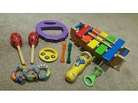Selection of Childrens Musical Instruments - 9 Items