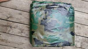 CAMOUFLAGE TARP 19FT.X 29FT. 4IN.INDUSTRIAL GRD. 5 MIL BRAND NEW Sarnia Sarnia Area image 1