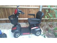 Envoy 6 Heavy Duty Mobility Scooter Max* range of 30 miles. Max speed 6MPH