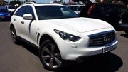 2016 Infiniti QX70 S51 S Premium White 7 Speed Sports Automatic Wagon Hoppers Crossing Wyndham Area Preview