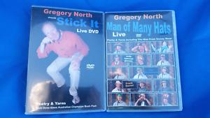 2 Greg North Bush Poet dvds. Belmont Belmont Lake Macquarie Area Preview