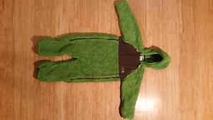 North Face fleece bunting suit 12-18 months