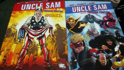 Uncle Sam x2 graphic novels (as pictured)