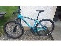 "Trek Excaliber X-Caliber 9 29er 18.5"" mens bike £900 new"