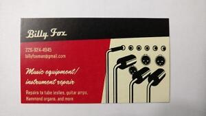 Repairs To Guitar Amps and More