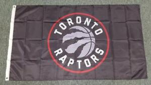 Large Toronto Raptors Flag - 5' X 3'