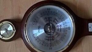 Vintage Thermor Banjo Weather Station Barometer,Thermometer