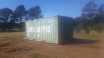 20ft shipping containers delivered to canberra
