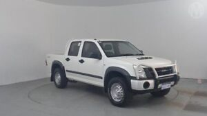 2011 Isuzu D-MAX TF MY10 SX (4x4) Alpine White 4 Speed Automatic Dual Cab Utility Perth Airport Belmont Area Preview