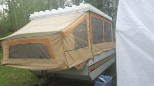 Good used condition tent trailer