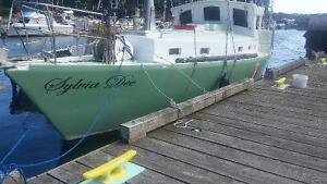 "Beautiful 40 foot sailboat ""The Sylvia Dee"""
