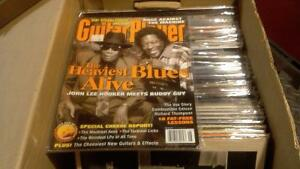Guitar Player Magazine, back issues