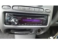 £25 kenwood car radio/CD/mp3 player with usb and aux input