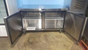 4 FT STAINLESS STEEL UNDER-COUNTER WORK TOP COOLER
