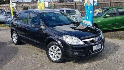 2005 Holden Astra AH CD Black 4 Speed Automatic Hatchback Maidstone Maribyrnong Area Preview