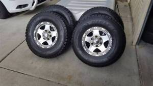 NEAR NEW TYRES + CSA MAGS 31 10.5 R15 Madeley Wanneroo Area Preview