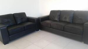 Black 3 seater & 2 Seater Logan Village Logan Area Preview