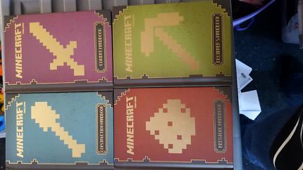 Mine craft books x4