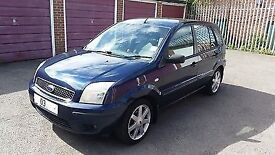 FORD FUSION 3 1.6l in Black with NEW MOT and HPI Clear. Not Fiesta, Focus, A2 or VW Polo.