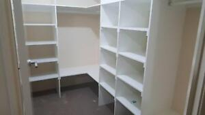 Singh Wardrobe and Garage Shelving Point Cook Wyndham Area Preview