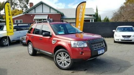 2010 Land Rover Freelander 2 LF 10MY Td4_e Red 6 Speed Manual Wagon