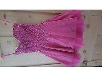 Lovely pink sequin prom or occasion dress