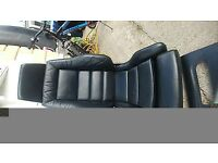Ford sierra sapphire Cosworth leather interior mint.front /rear seats with side bolsters no wear