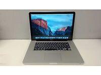 "Apple MacBook Pro A1286, 15.4"" Laptop i7-2.66ghz , 500GB HDD - 8Gb ram"