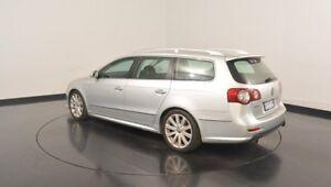 2008 Volkswagen Passat Type 3C MY09 R36 DSG 4MOTION Silver 6 Speed Sports Automatic Dual Clutch