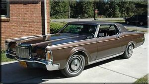 Looking for a mint Lincoln Mark iii