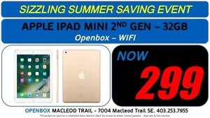IPad Mini 2nd Gen 32gb Storage With Full Warranty. OpenBox Macleod Sale!