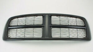 NEW 2002-2005 DODGE RAM BLACK AND CHROME BILLET GRILLE London Ontario image 1